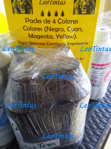 tintas de litro packs de 4 colores epson l355 l555 l365 l575