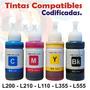 Tinta Epson L110 L200 L210 L350 L355 L555 L800 Compatible
