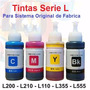 Tintas Epson Serie L (cali) L100-l120-l200-l210-l355-l555