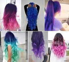 tintas fantasia para cabellos x 120cc profesional colors