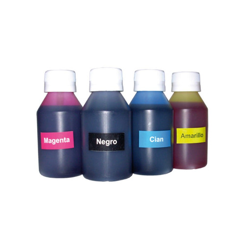 tintas fotograficas dye de 250cc para epson, hp y canon