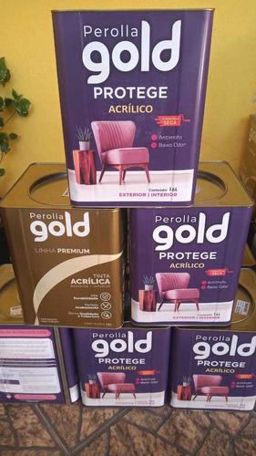 tintas gold acrílica premium
