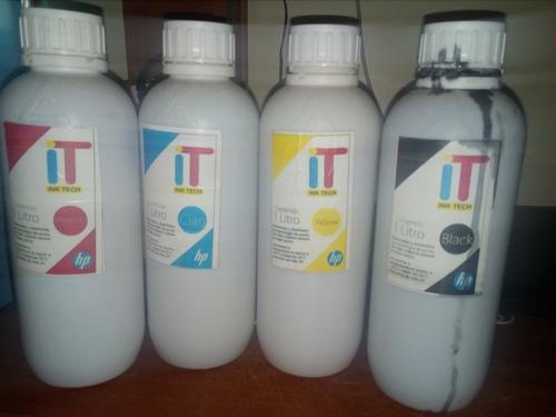 tintas ink tech para hp taiwanesas