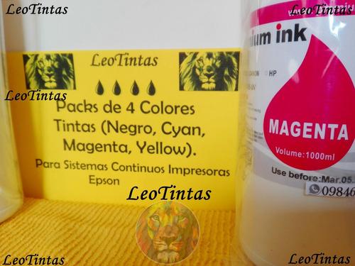 tintas packs de 4 litros epson l etc las originales premium®