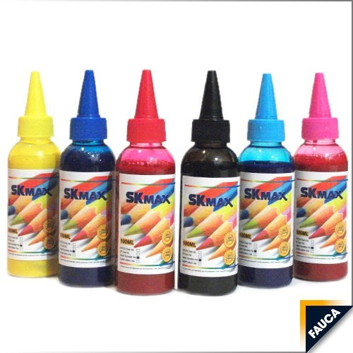 tintas para sublimación 100ml suministros fauca