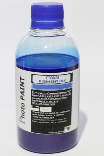 tintas pigmentada para impressoras tanque frascos com 200ml