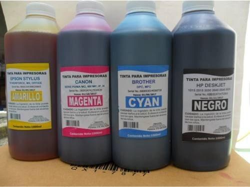 tintas por litro para impresora epson-canon-hp-lexmark-broth
