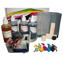 Sistema Tinta Continua Epson Xp320 Xp420 Wf2630 -2650 -2660