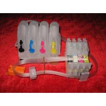 Sistema Continuo Tinta Para Impresores Epson Tx120 Tx130 T22