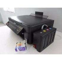 Impresora Epson Xp201 + Sistema De Tinta Con Sublimacion