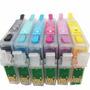 Cartuchos Recargables Epson T50,r270,r290,rx590,rx610,tx700w