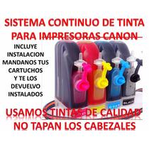 Sistema De Tinta Impresoras Canon Mp250 Mp280 Ip2700 Mx320