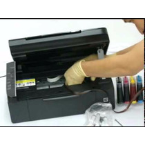 Sistema Continuo + Instalacion Ful Tinta Hp