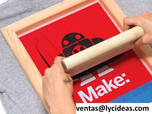 tintas serigrafia / serigraficas - pvc, bolsas, globos,etc