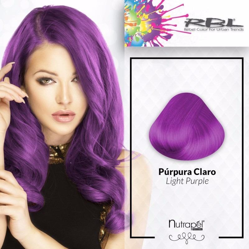 Tinte cabello purpura morado en mercado libre - Gama de colores morados ...