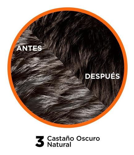tinte capilar permanente  3 castaño  natural excell 5
