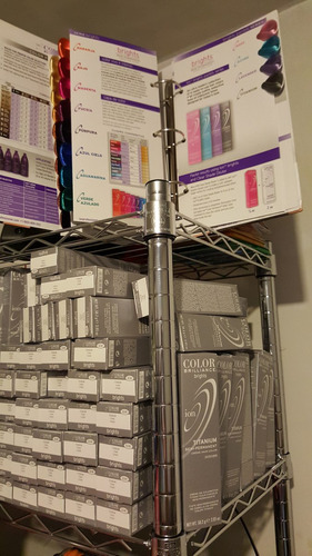 tinte gris ion titanium 58gr. 1 rosa y 1titanium