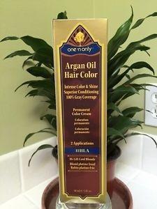 tinte permanente con aceite argán  rubio oscuro