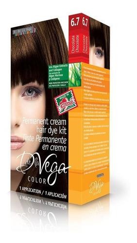 tinte permanente en crema, 6.7 chocolate