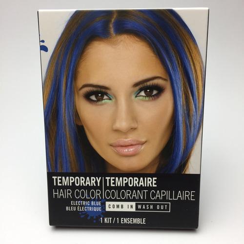 tinte pintura temporal para cabello colores halloween
