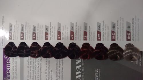 tinte pravana chromasilk gama parte 1
