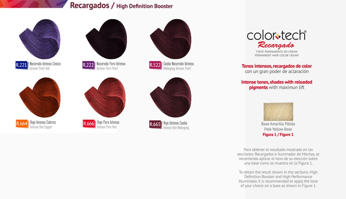 09712f6967 Tinte Recargado Color Tech 90 G Con Peróxido 20 Vol 135 Ml - $ 60.00 ...