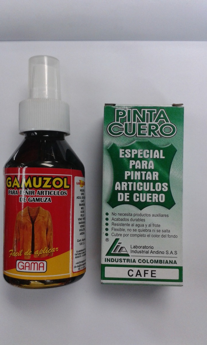 f9b284bfd5b19 Tinte Restaurador Del Color Para Calzado Cuero Y Gamuza -   8.200 en ...