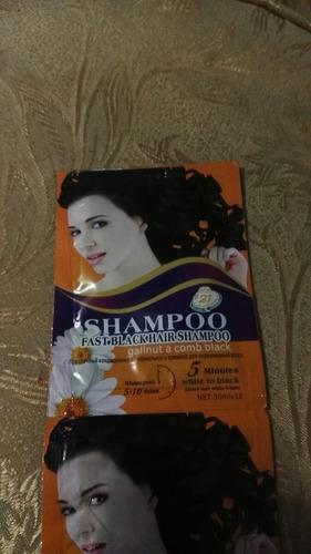 tinte shampoo 10 ud. sin amoniaco 5 -7 min negro