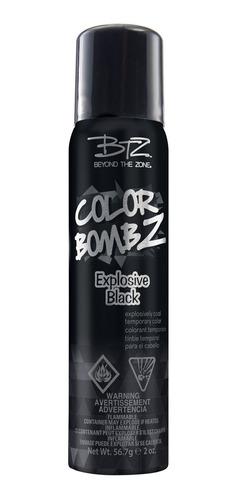 tinte temporal en spray negro explosive black sally beauty