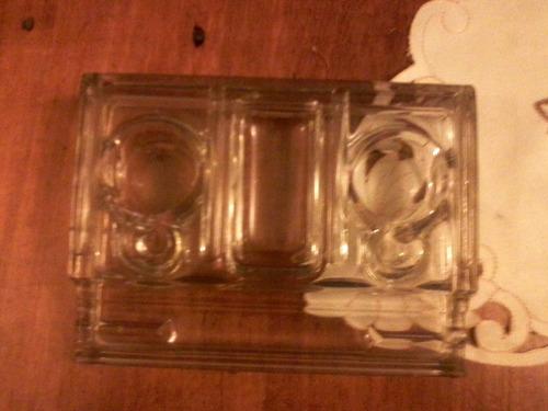 tintero de cristal