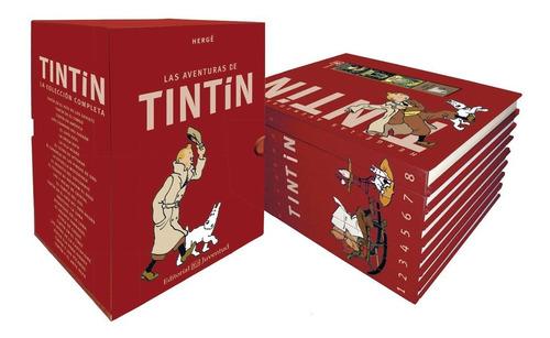 tintin box la coleccion completa