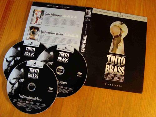 tinto brass box set dvd edicion de lujo & limitada