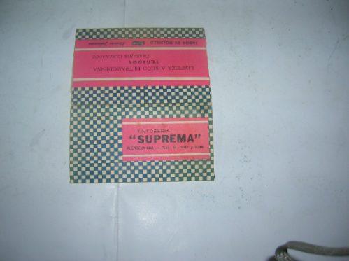 Calendario 1968.Tintoreria Suprema Calendario 1968 Almanaque Jabon Bolsillo 40 00