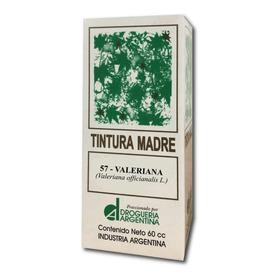Tintura Madre Valeriana Ansiedad Drogueria Argentina 60cc