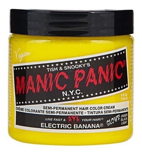 tintura manic panic amarillo semipermanente vegana