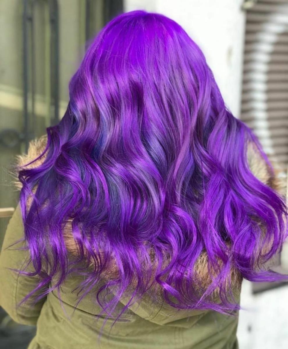 Color de pelo gris fantasia