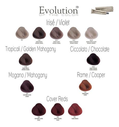 tintura profesional para cabello evolution alfaparf