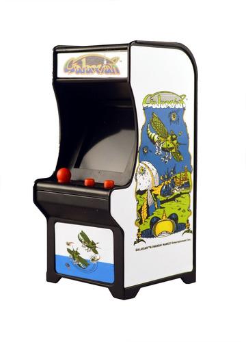 tiny arcade mini fliperama retrô galaxian com som dtc