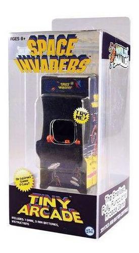 tiny arcade mini fliperama retrô space invaders com som 4788