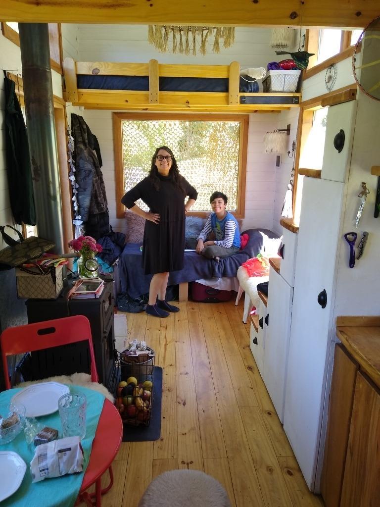 tiny house mini casa cabaña de vacaciones cerca del centro