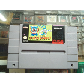 Tiny Toon Buster Busts Loose Super Nintendo Snes