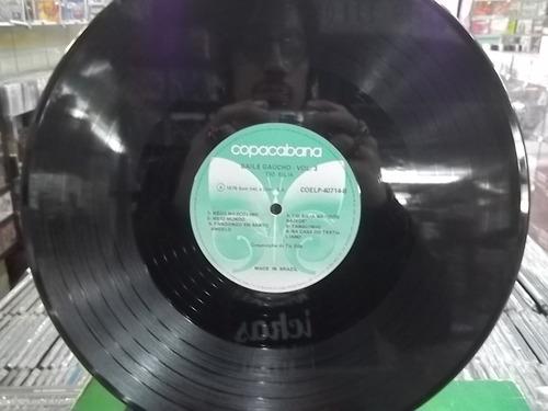 tio bilia baile gaúcho vol 3  ano 1976 lp  vinil frete 15,00