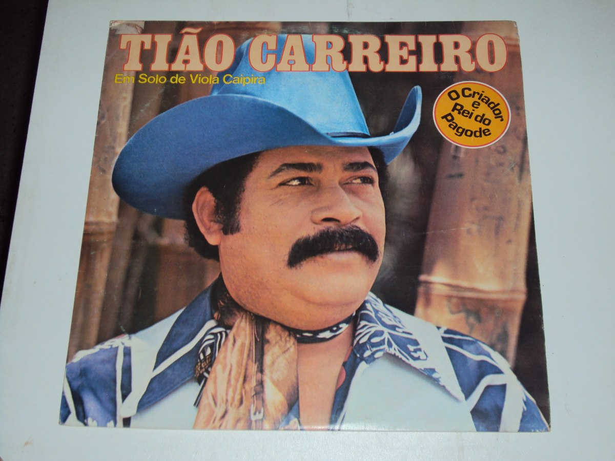 Tião Carreiro - Em Solos De Viola Caipira - 1979 - Novo - R  50 d0039e48a13