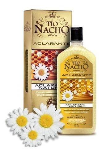 tio nacho - shampoo aclarante con jalea real y manzanilla