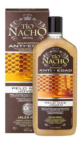 tío nacho shampoo anti-edad x 415ml