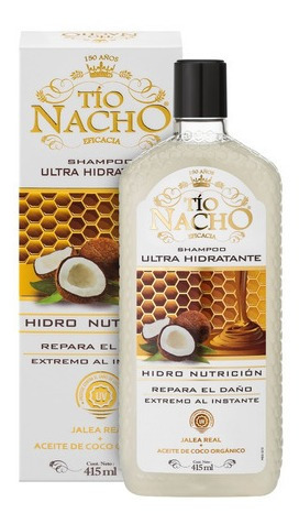tío nacho shampoo ultra hidratante x 415ml