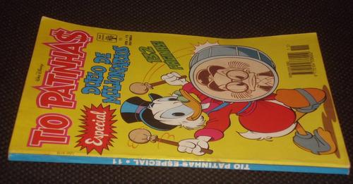 tio patinhas especial º 11 - ed. abril - 1993