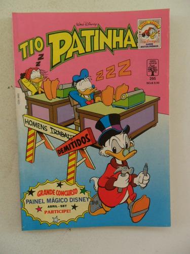tio patinhas nº 295! dezembro 1989!