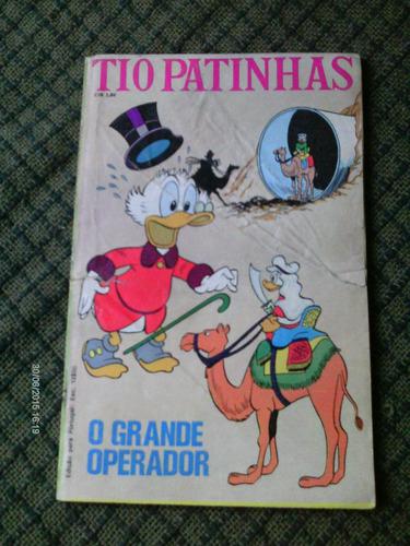 tio patinhas n.78 janeiro 1972 editora abril