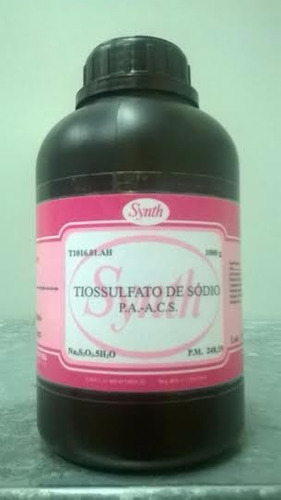 tiossulfato pa 1kg + perborato 250g + bicarbonato pa 1kg